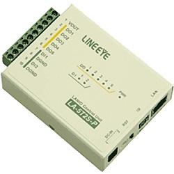【送料無料】ラインアイ LA-5T2S-P LAN接続型デジタルIOユニット オープンコレクタ5出力/ ドライ接点2入力【在庫目安:お取り寄せ】