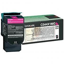 【送料無料】レックスマーク C544X1MG リターンプログラムトナーカートリッジ・マゼンタ(Extra大容量/ 4000枚)【在庫目安:お取り寄せ】| 消耗品 リサイクルトナー リサイクル カートリッジ 交換 レーザープリンタ レーザー プリンタ A4 新品