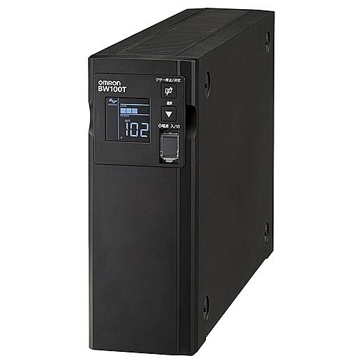 【送料無料】オムロン BW100T 無停電電源装置 常時商用(正弦波)/ 1000VA/ 610W/ 縦型【在庫目安:お取り寄せ】| 電源関連装置 UPS 停電対策 停電 電源 無停電装置 無停電