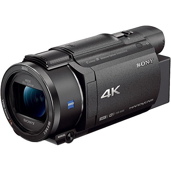 【送料無料】SONY FDR-AX60/B デジタル4Kビデオカメラレコーダー Handycam AX60 ブラック【在庫目安:僅少】