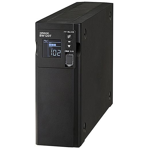 【送料無料】オムロン BW120T 無停電電源装置 常時商用(正弦波)/ 1200VA/ 730W/ 縦型【在庫目安:僅少】