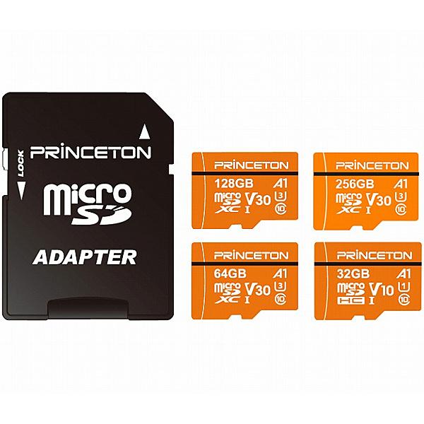 【送料無料】Princeton PMSDA-64G 64GB microSDXCカード UHS-I A1対応【在庫目安:お取り寄せ】