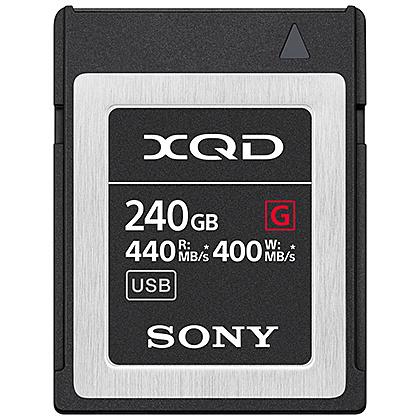 【送料無料】SONY QD-G240F XQDメモリーカード Gシリーズ 240GB【在庫目安:僅少】