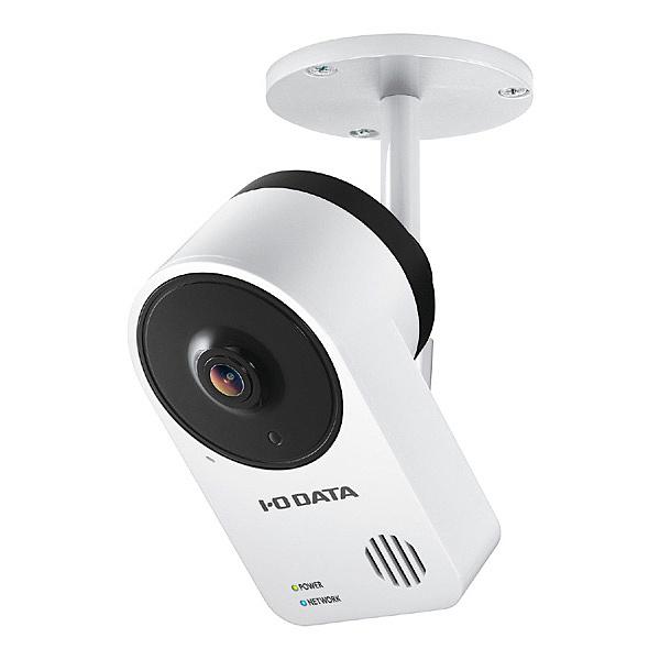 【送料無料】IODATA TS-NA220 防塵・防水規格IP65準拠屋外用PoE給電対応ネットワークカメラ「Qwatch(クウォッチ)」【在庫目安:お取り寄せ】| カメラ ネットワークカメラ ネカメ 監視カメラ 監視 屋外 録画