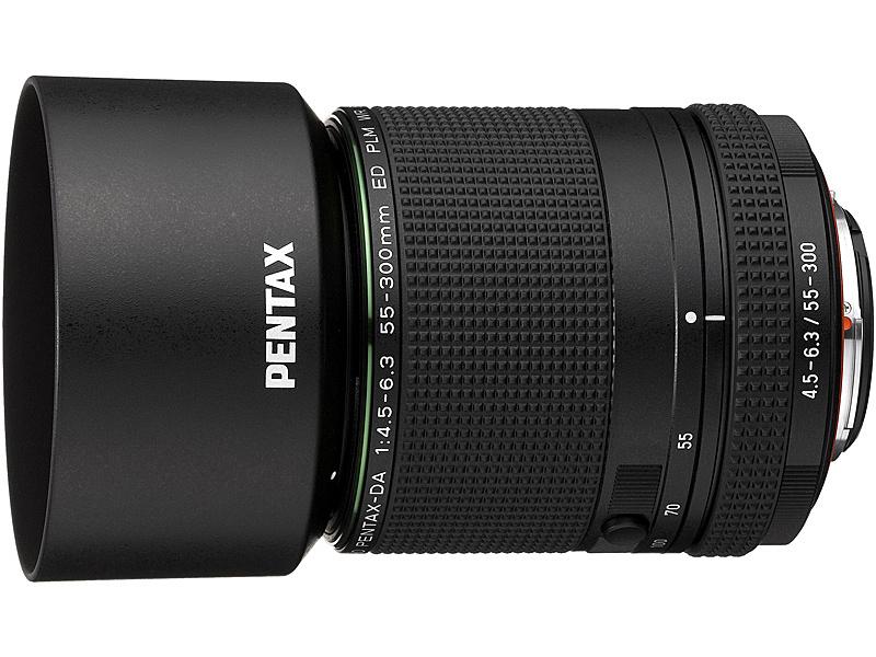 【送料無料】 HD DA55-300mm/4.5-6.3ED PLM WR RE 望遠ズームレンズ HD PENTAX-DA 55-300mmF4.5-6.3ED PLM WR RE (フード付)【在庫目安:お取り寄せ】