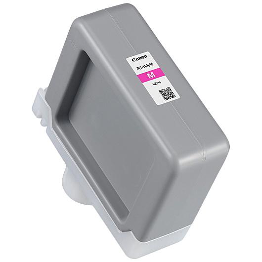 【送料無料】Canon 0852C001 インクタンク PFI-1100 M マゼンタ【在庫目安:僅少】| 消耗品 インク インクカートリッジ インクタンク 純正 インクジェット プリンタ 交換 新品 マゼンタ