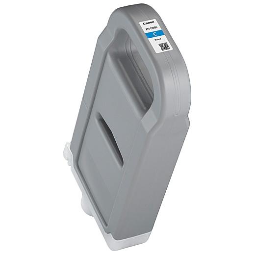 【送料無料】Canon 0776C001 インクタンク PFI-1700 C シアン【在庫目安:お取り寄せ】| インク インクカートリッジ インクタンク 純正 純正インク