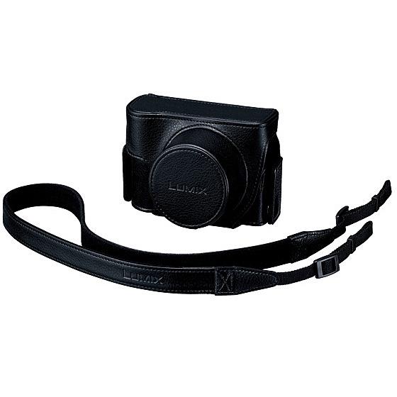 【送料無料】Panasonic DMW-CLXM2-K ソフトケース (ブラック)【在庫目安:お取り寄せ】| サプライ カメラバッグ カメラ バックパック リュックサック バッグ キャリングケース 収納 一眼レフ デジイチ