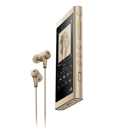 【送料無料】SONY NW-A55HN/N ウォークマン Aシリーズ 16GB ペールゴールド(ヘッドホン同梱)【在庫目安:お取り寄せ】