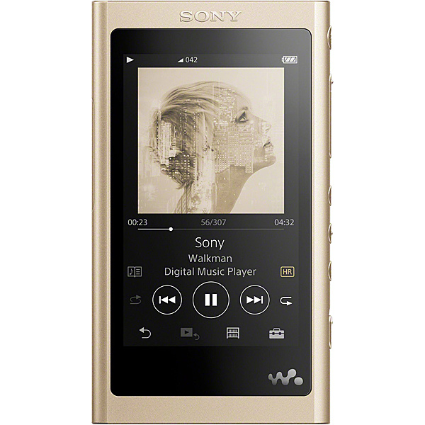 【送料無料】SONY NW-A55/N ウォークマン Aシリーズ 16GB ペールゴールド(ヘッドホン付属なし)【在庫目安:お取り寄せ】