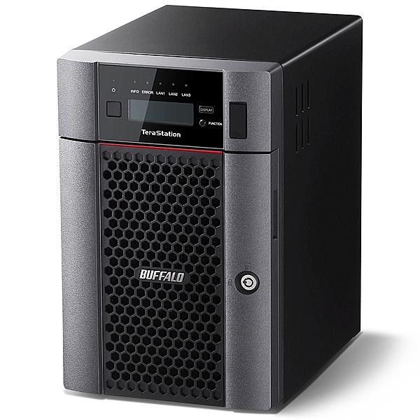 【送料無料】BUFFALO TS5610DN3606 TeraStation TS5610DNシリーズ 10GbE標準搭載 6ドライブNAS 36TB【在庫目安:お取り寄せ】| NAS RAID レイド