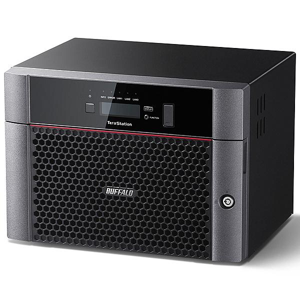 【送料無料】BUFFALO TS5810DN3208 TeraStation TS5810DNシリーズ 10GbE標準搭載 8ドライブNAS 32TB【在庫目安:僅少】| NAS RAID レイド