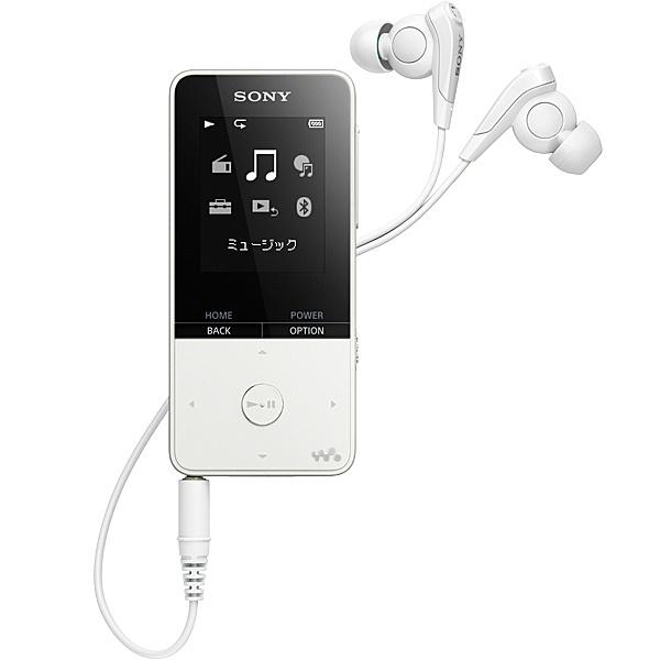 【送料無料】SONY(VAIO) NW-S315/W ウォークマン Sシリーズ <メモリータイプ> 16GB ホワイト【在庫目安:お取り寄せ】