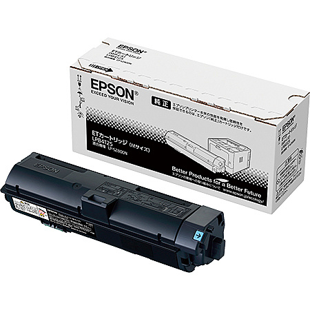 【送料無料】EPSON LPB4T25 A4モノクロページプリンター用 ETカートリッジ/ Mサイズ(約6100ページ)【在庫目安:お取り寄せ】| トナー カートリッジ トナーカットリッジ トナー交換 印刷 プリント プリンター