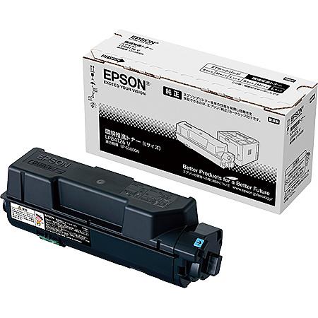 【送料無料】EPSON LPB4T26V A4モノクロページプリンター用 環境推進トナー/ Lサイズ(約13300ページ)【在庫目安:お取り寄せ】  消耗品 リサイクルトナー リサイクル カートリッジ 交換 レーザープリンタ レーザー プリンタ A4 新品
