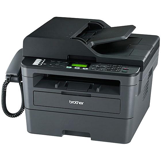【送料無料】ブラザー FAX-L2710DN A4モノクロレーザー複合機/ 30PPM/ FAX/ ADF/ 両面印刷/ 有線LAN/ 受話器【在庫目安:僅少】