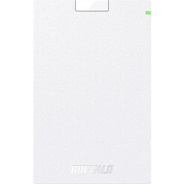 【在庫目安:あり】【送料無料】BUFFALO HD-PCG2.0U3-GWA ミニステーション USB3.1(Gen.1)対応 ポータブルHDD スタンダードモデル ホワイト 2TB