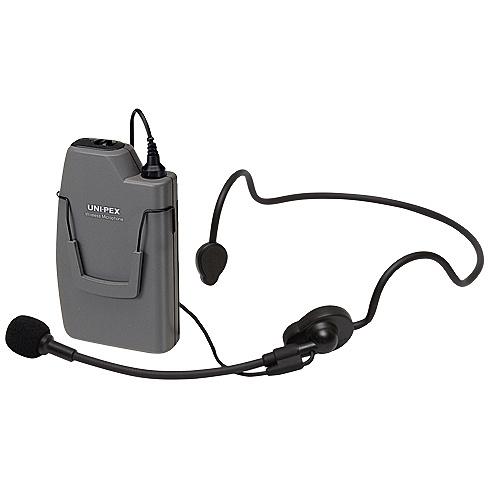 【送料無料】ユニペックス WM-3130 ワイヤレスマイクロホン 300MHz帯 ヘッドセットタイプ 乾電池付【在庫目安:お取り寄せ】| AV機器 業務用 マイクロフォン マイクロホン マイク 録音 配信 実況 ゲーム セミナー 説明会 通話