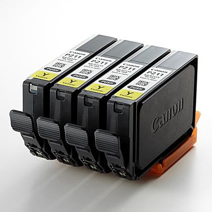 【送料無料】Canon 9033B001 インクタンク BJI-P211 Y(4P)【在庫目安:僅少】| インク インクカートリッジ インクタンク 純正 純正インク