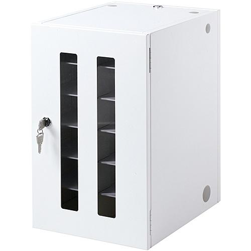 【送料無料】サンワサプライ CAI-CABSP12N スマートフォン・小型機器収納保管庫(12台収納)【在庫目安:お取り寄せ】| オフィス オフィス家具 収納 棚 引き出し キャビネット ラック