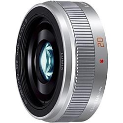 【送料無料】Panasonic H-H020A-S デジタル一眼カメラ用交換レンズ LUMIX G 20mm/ F1.7 II ASPH. (シルバー)【在庫目安:お取り寄せ】  カメラ 単焦点レンズ 交換レンズ レンズ 単焦点 交換 マウント ボケ
