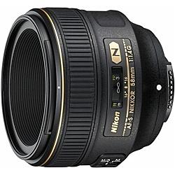【送料無料】Nikon AF-S58 1.4G AF-S NIKKOR 58mm f/ 1.4G【在庫目安:お取り寄せ】| カメラ 単焦点レンズ 交換レンズ レンズ 単焦点 交換 マウント ボケ