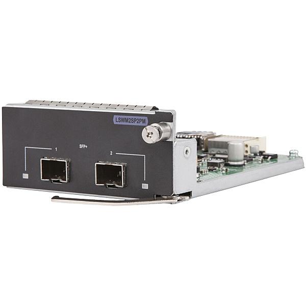 【送料無料】 JH157A HPE 5130/ 5510 10GbE SFP+ 2port Module【在庫目安:お取り寄せ】| パソコン周辺機器 SFPモジュール 拡張モジュール モジュール SFP スイッチングハブ 光トランシーバ トランシーバ PC パソコン