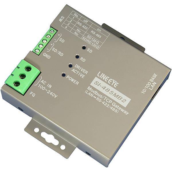 【送料無料】ラインアイ SI-485MB2-L Modbus TCPゲートウェイ 絶縁・壁掛タイプ【在庫目安:お取り寄せ】