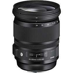 【送料無料】SIGMA 24-105DGOSHSM EO 24-105mm F4 DG OS HSM キヤノン用【在庫目安:お取り寄せ】| カメラ ズームレンズ 交換レンズ レンズ ズーム 交換 マウント