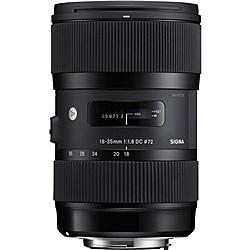 【送料無料】SIGMA 18-35/1.8DCHSM SO 18-35mm F1.8 DC HSM ソニー用【在庫目安:お取り寄せ】  カメラ ズームレンズ 交換レンズ レンズ ズーム 交換 マウント