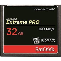 【送料無料】SanDisk SDCFXPS-032G-J61 エクストリーム プロ コンパクトフラッシュカード 32GB【在庫目安:お取り寄せ】