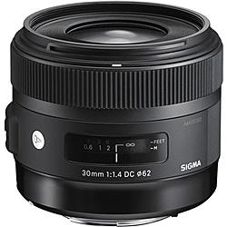 【送料無料】SIGMA 30mm F1.4 DC HSM SA 30mm F1.4 DC HSM シグマ用【在庫目安:お取り寄せ】| カメラ 単焦点レンズ 交換レンズ レンズ 単焦点 交換 マウント ボケ