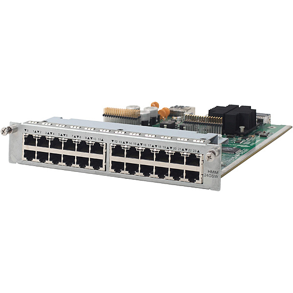 【送料無料】 JG426A HPE MSR 24-ports Gig-T Switch HMIM Module【在庫目安:お取り寄せ】