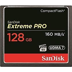 【送料無料】SanDisk SDCFXPS-128G-J61 エクストリーム プロ コンパクトフラッシュカード 128GB【在庫目安:お取り寄せ】