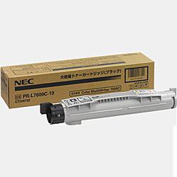 【送料無料】NEC PR-L7600C-19 大容量トナーカートリッジ(ブラック)【在庫目安:お取り寄せ】  トナー カートリッジ トナーカットリッジ トナー交換 印刷 プリント プリンター