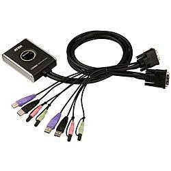 【送料無料】ATEN CS682 DVI/ オーディオ対応 2ポートUSB KVMPスイッチ【在庫目安:お取り寄せ】
