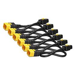 【送料無料】シュナイダーエレクトリック AP8712S Power Cord Kit (6 ea) Locking C19 to C20 0.6m【在庫目安:お取り寄せ】| パソコン周辺機器 電源コード 電源ケーブルケーブル