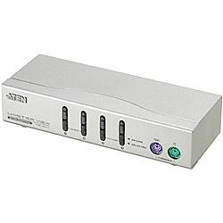 【送料無料】ATEN CS-84A PS/ 2 4ポート KVMスイッチ【在庫目安:お取り寄せ】