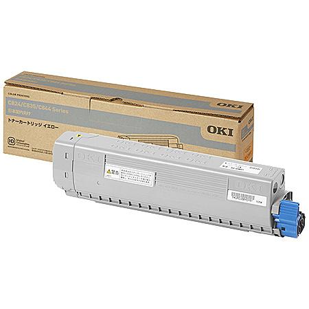 【在庫目安:あり】【送料無料】OKIデータ TC-C3BY1 トナーカートリッジ イエロー (C844dnw/ 835dnwt/ 835dnw/ 824dn)| トナー カートリッジ トナーカットリッジ トナー交換 印刷 プリント プリンター