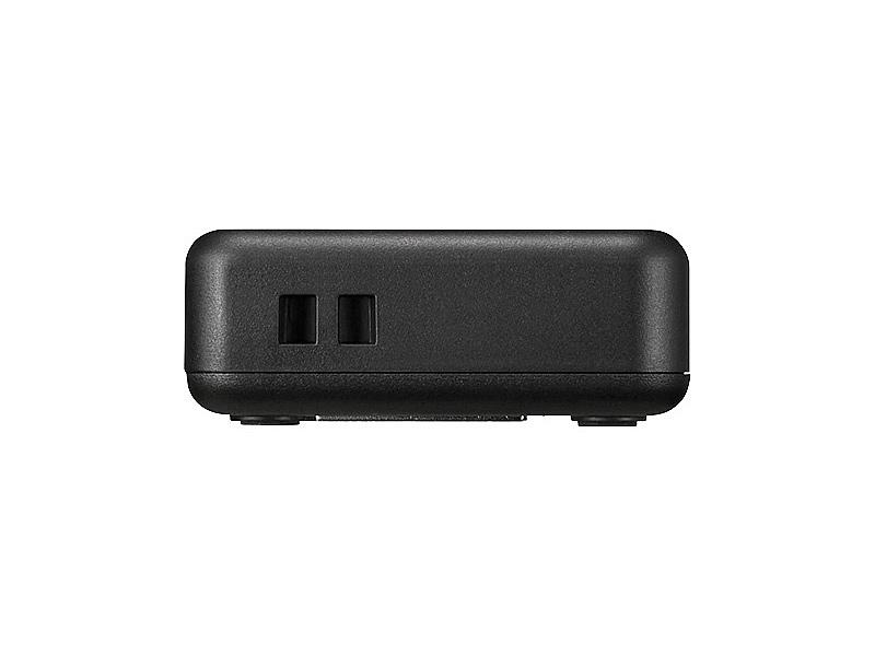 BUFFALO LSW6-GT-5EPL/BK Giga 5ポート スイッチングハブ 電源外付け プラスチック筐体 ブラック【在庫目安:予約受付中】