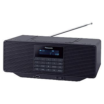 【送料無料】Panasonic RX-D70BT-K ポータブルステレオCDシステム (ブラック)【在庫目安:予約受付中】