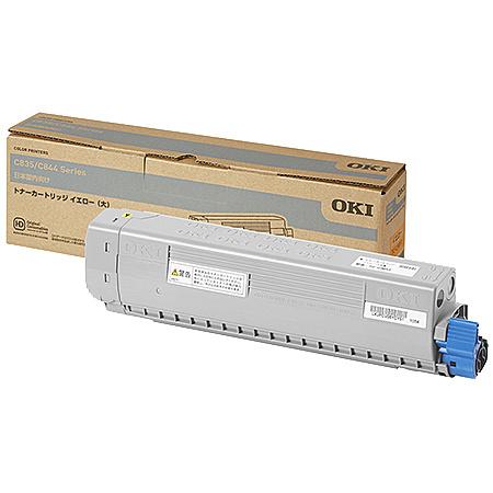 【送料無料】OKIデータ TC-C3BY2 トナーカートリッジ イエロー(大) (C844dnw/ 835dnwt/ 835dnw)【在庫目安:僅少】| トナー カートリッジ トナーカットリッジ トナー交換 印刷 プリント プリンター