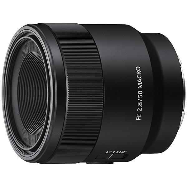 【送料無料】SONY SEL50M28 Eマウントレンズ FE 50mm F2.8 Macro【在庫目安:お取り寄せ】| カメラ 交換レンズ レンズ 交換 マウント