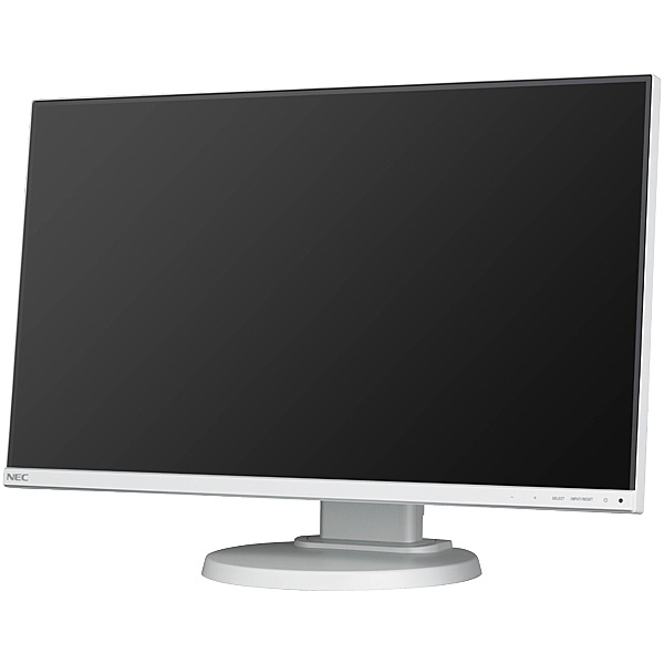 【在庫目安:あり】【送料無料】NEC LCD-E241N 〔5年保証〕24型3辺狭額縁IPSワイド液晶ディスプレイ(白)