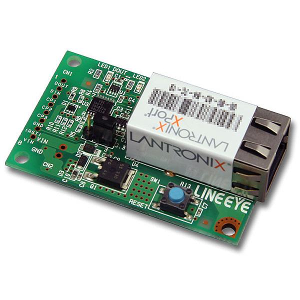 【送料無料】ラインアイ EB-XP011 XPort組込み評価ボード UARTモデル【在庫目安:お取り寄せ】