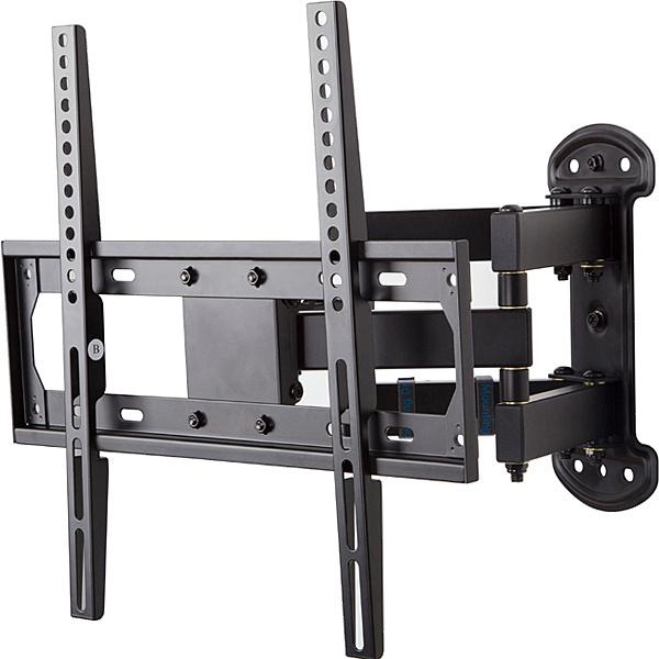 【送料無料】朝日木材加工 FLM-001-BK ディスプレイ壁掛金具 26~55V用【在庫目安:お取り寄せ】