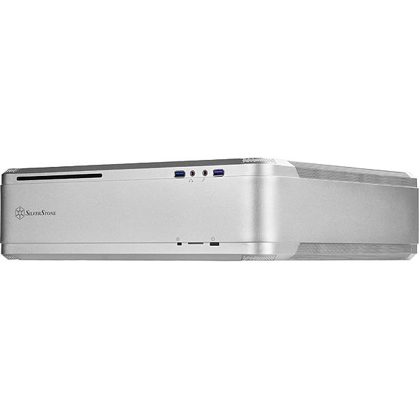 【送料無料】SilverStone SST-FTZ01S Mini-ITXケース シルバー【在庫目安:お取り寄せ】