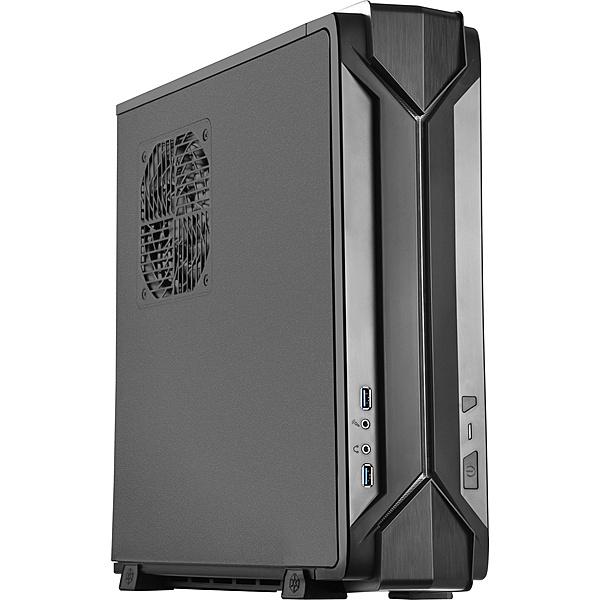 【送料無料】SilverStone SST-RVZ03B Gaming Mini-ITXケース ブラック【在庫目安:お取り寄せ】