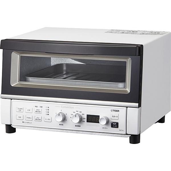【送料無料】タイガー魔法瓶 KAT-A130WM コンベクションオーブン&トースター〈やきたて〉 マットホワイト【在庫目安:お取り寄せ】| キッチン家電 一人暮らし 肉 魚 家電 新生活