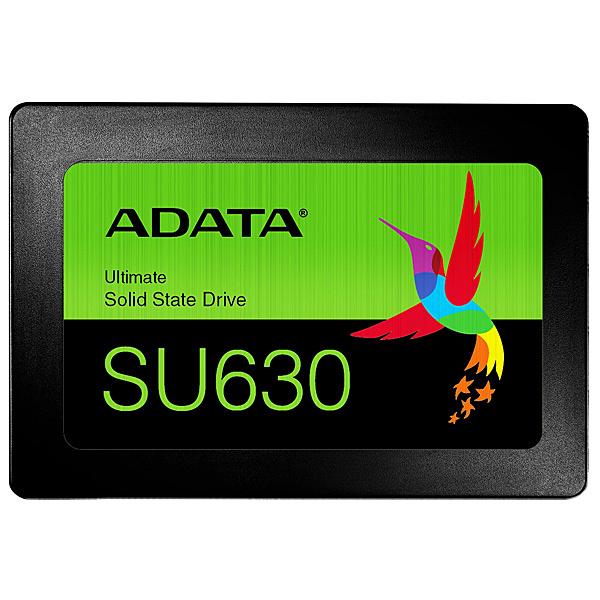 【送料無料】A-DATA Technology ASU630SS-960GQ-R SU630 SSD 960GB 3D QLC Chip採用 2年保証 Read(MAX)520/ Write(MAX)450MB/ s【在庫目安:お取り寄せ】| パソコン周辺機器 SSD SATA 内蔵